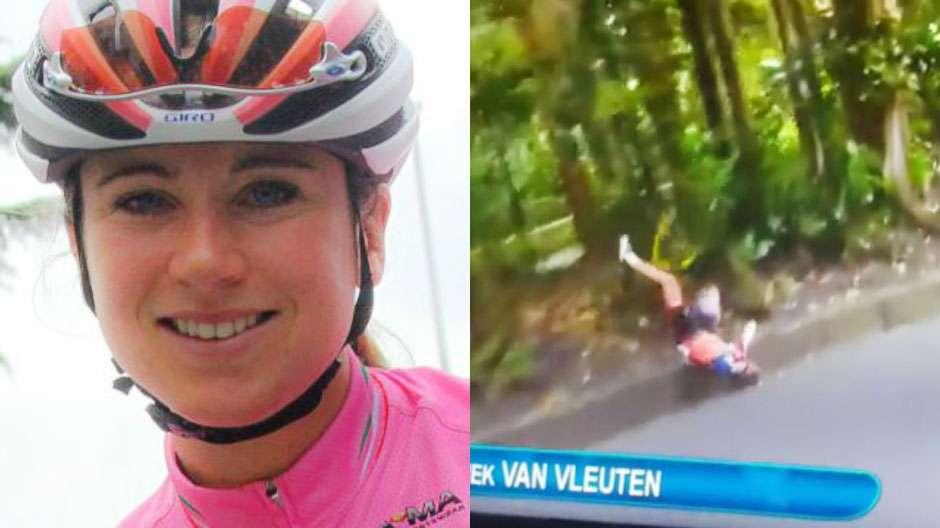Recuperação de ciclista holandesa é positiva, diz médico da delegação