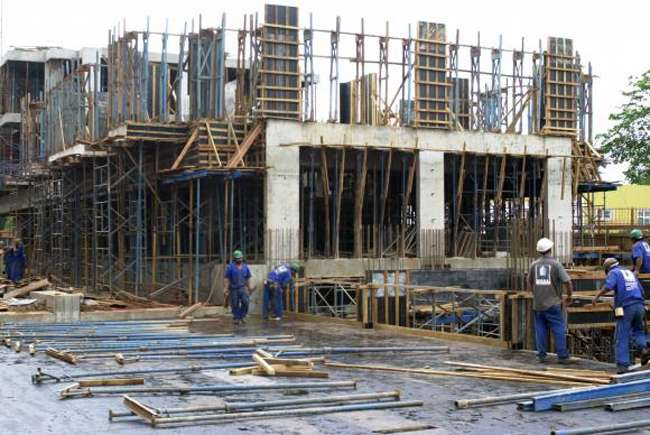 Vendas de materiais de construção caem 5,4% em março