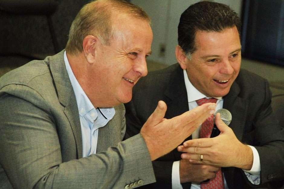 """""""Marconi agiu como estadista"""", diz Paulo Garcia, sobre renovação da concessão da Saneago"""