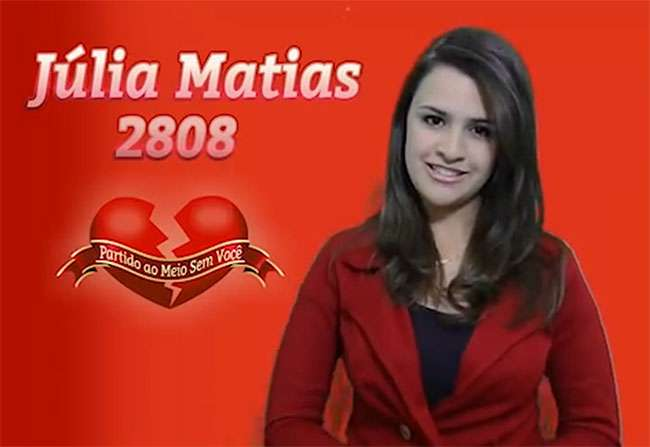 Estudante do DF faz vídeo para ser reeleita 'namorada do Zé'