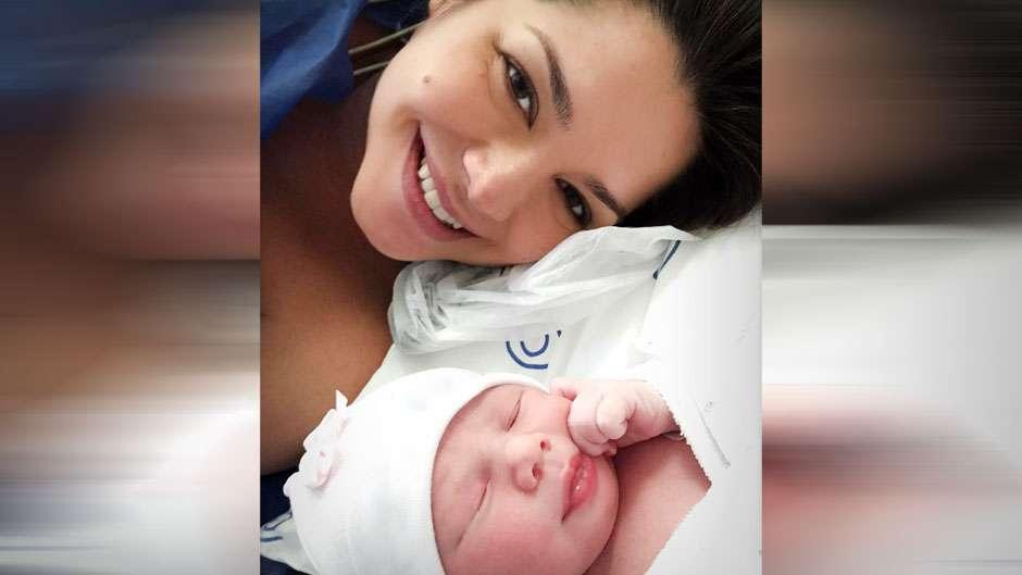 Thais Fersoza mostra primeira foto ao lado da filha