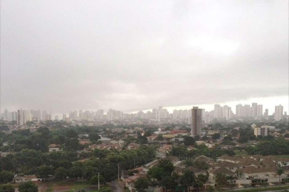 Mais um fim de semana chuvoso em Goiás