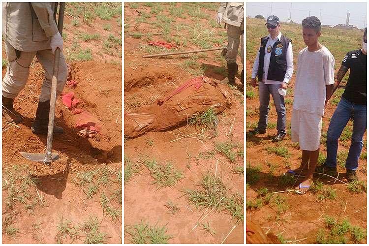 Águas Lindas: Jovem confessa ter matado a mãe e indica onde o corpo foi enterrado