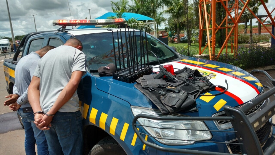 Suspeitos de assaltar caminhões no sul de Goiás são presos
