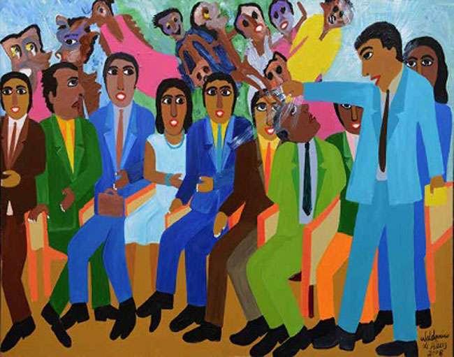 Mostra de obras de Waldomiro de Deus comemora 70 anos do artista