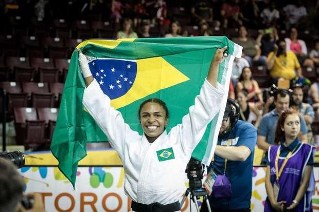 Judoca conquista 1º ouro do País no Pan