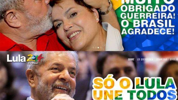"""Para PT, site Volta Lula é """"forma feia"""" de fazer política"""