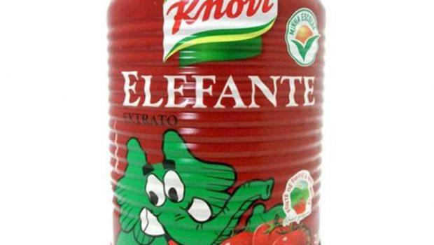 Anvisa encontra pelo de roedor em extrato de tomate da Knorr Elefante