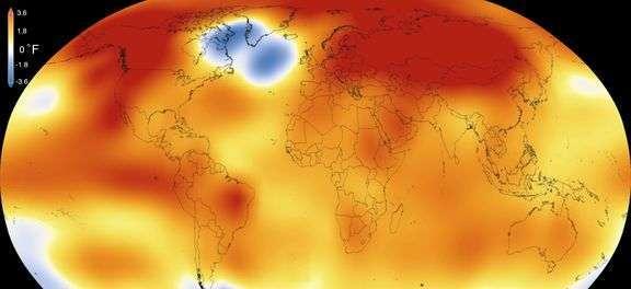 Nasa declara 2015 o ano mais quente da história