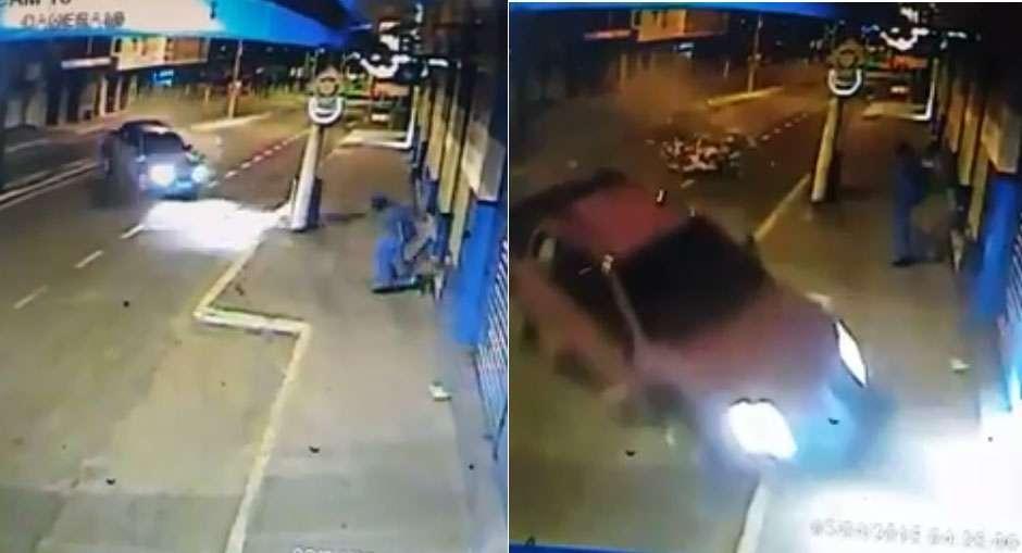 Jovem morre em acidente no centro da cidade de Uruaçu; assista ao vídeo