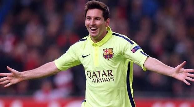 Com recorde de Messi, Barça vence e avança na Liga