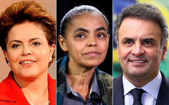 Ibope: Dilma tem 40%, Aécio, 24% e Marina, 21%