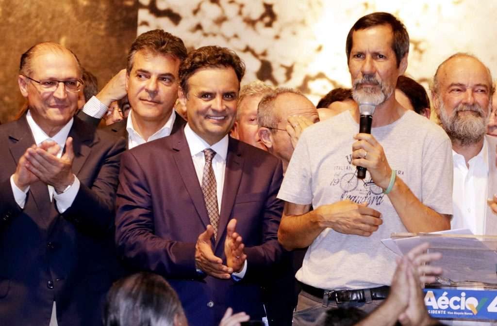 Eduardo Jorge, do PV, decide apoiar Aécio Neves no segundo turno