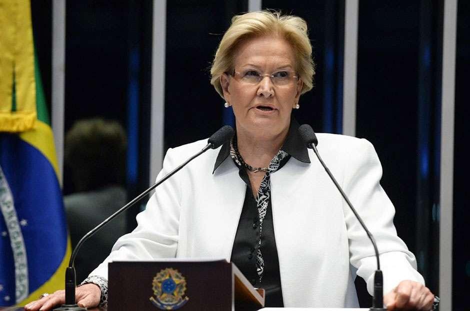 Ana Amélia critica ameaça de 'incendiar o país' e afirma que impeachment não é golpe