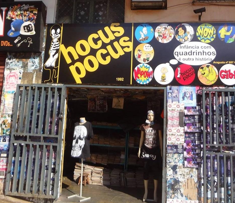 Hocus Pocus realiza bazar de rua com livros a R$1