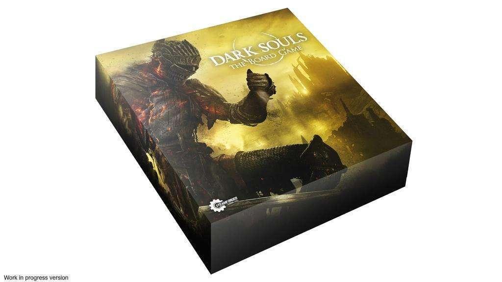 Jogo de tabuleiro de Dark Souls é financiado em 3 minutos