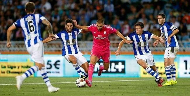 Real Sociedad vira sobre o Real Madrid e vence por 4 a 2