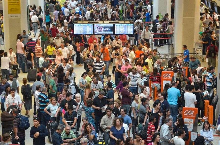 Aeroportos registram 53 cancelamentos até as 9h, informa Infraero