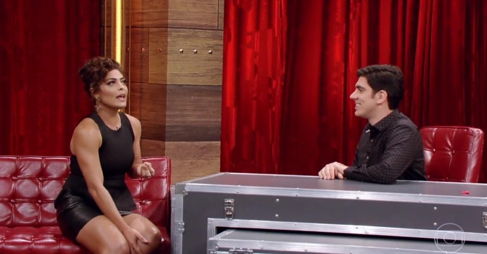 Juliana Paes diz que sente atração por mulheres
