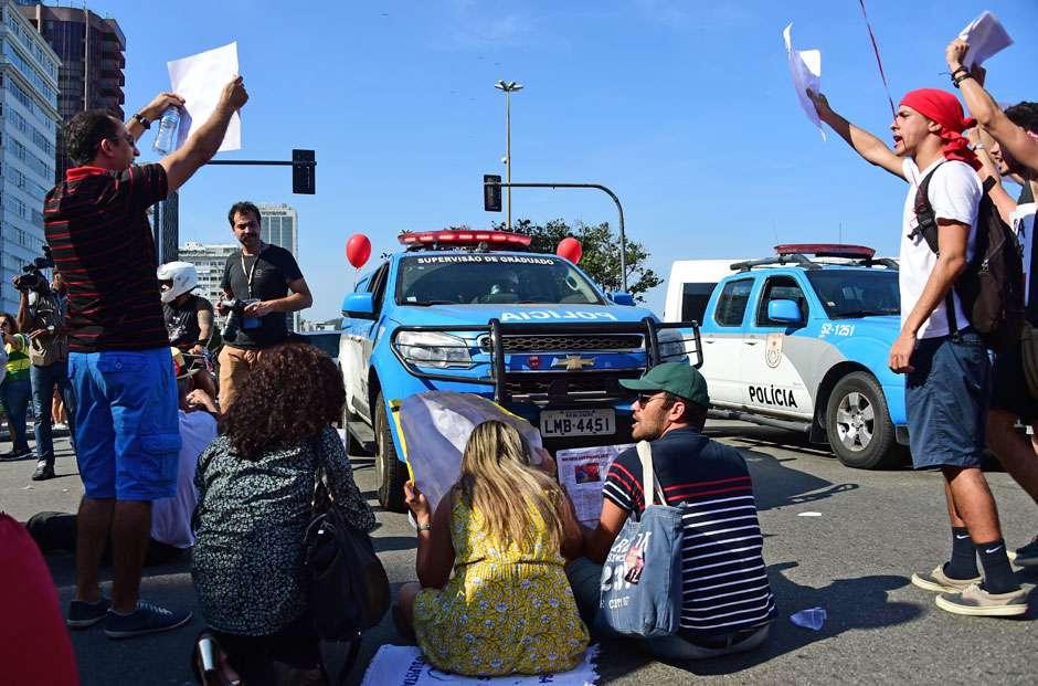 Justiça Federal libera manifestações políticas durante o Rio 2016