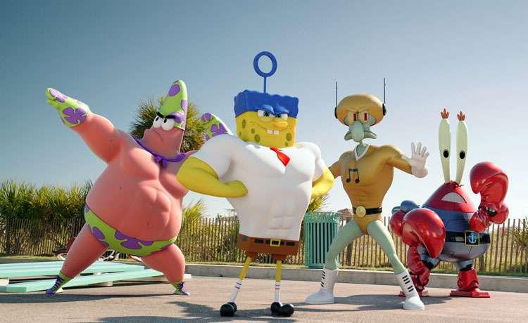 Bob Esponja e amigos viram super-heróis no longa 'Um Herói Fora D'Água'