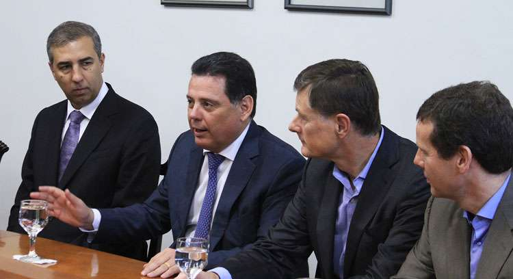 Marconi participa da oficialização da compra pela Coty do setor de cosméticos da Hypermarcas