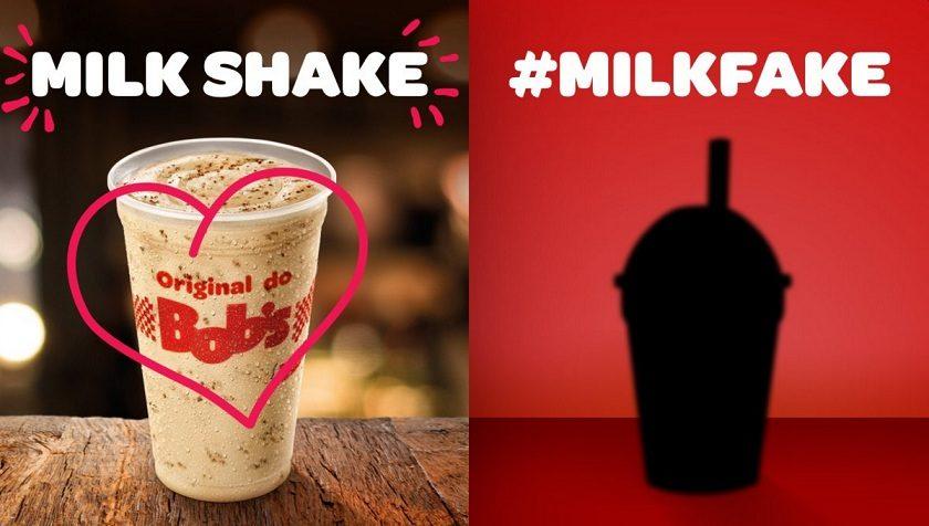 Bobs vai dar milk-shake para quem criticar o Ovomaltine do McDonalds