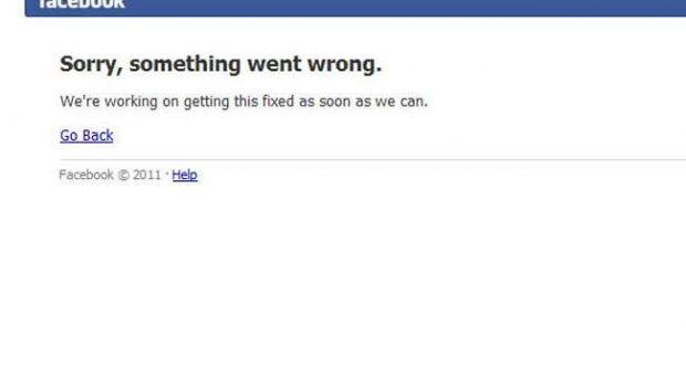 Facebook fica fora do ar e vira trend topic no Twitter