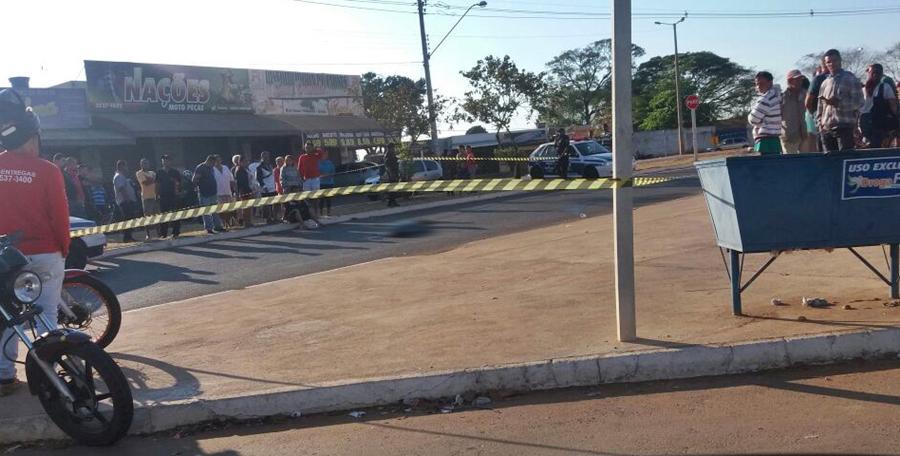Idosa morre após ser atropelada por viatura da Guarda Municipal em Aparecida