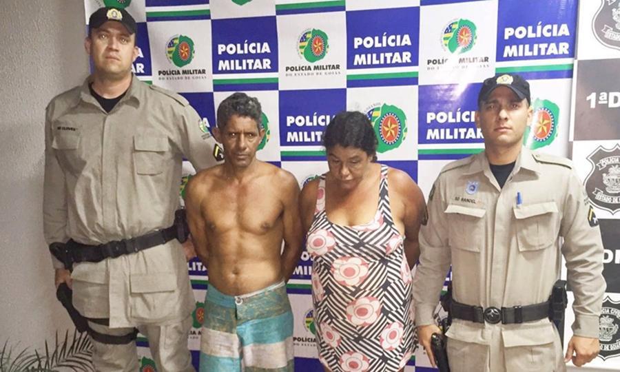 PM prende pai, mãe e filha que estavam foragidos da justiça