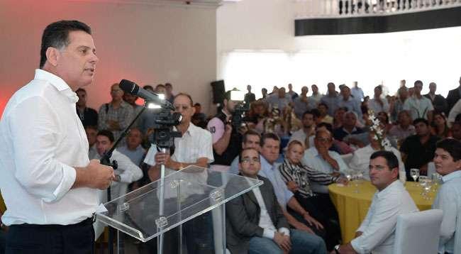 Em evento com prefeitos, Marconi diz vai aprofundar parcerias com municípios