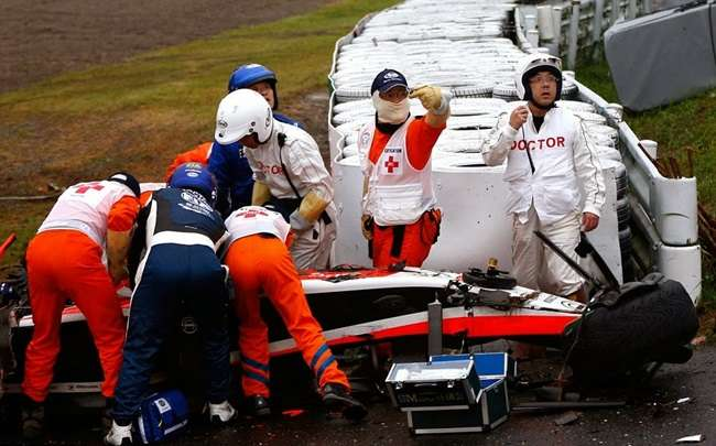 Fórmula 1: FIA diz que Jules Bianchi sofreu grave lesão na cabeça