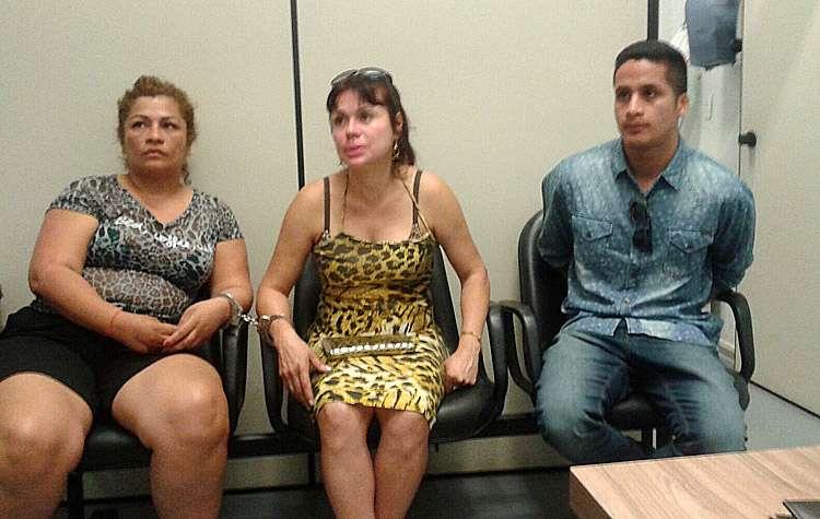 Estrangeiros presos por furto em loja do Aeroporto de Goiânia