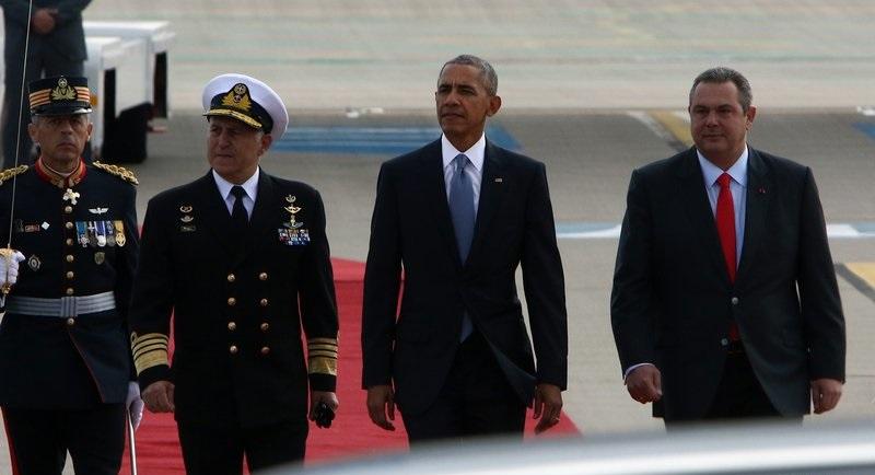 Obama chega à Grécia em sua última viagem como presidente dos EUA
