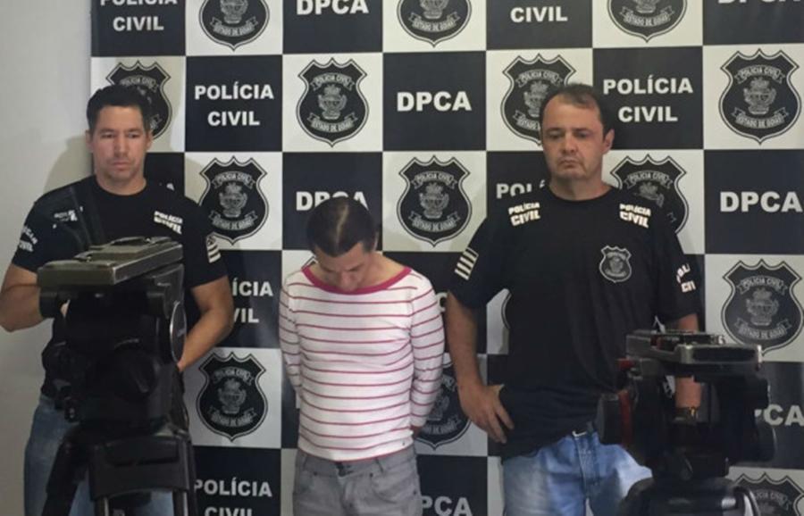 Costureiro é preso acusado de estuprar filha, enteada e sobrinha