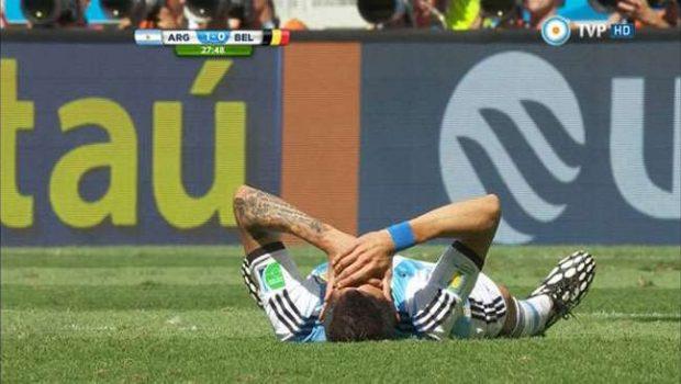 Com estiramento, argentino Di María está fora da Copa