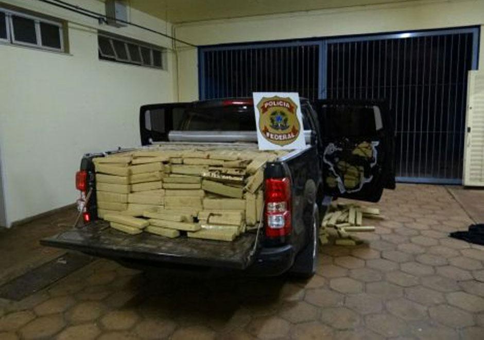Polícia Federal desarticula quadrilha de tráfico de drogas internacional