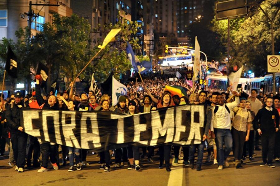 Manifestações contra Temer estão programadas em Goiânia e em outras 17 capitais no feriado