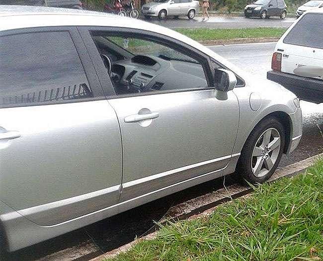 Candidos do Enem têm carros arrombados na porta da Unip
