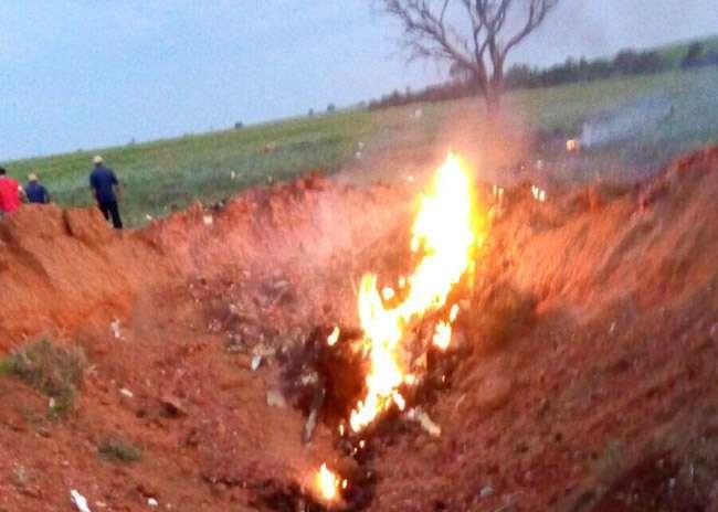 Avião cai em fazenda na zona rural de Catalão
