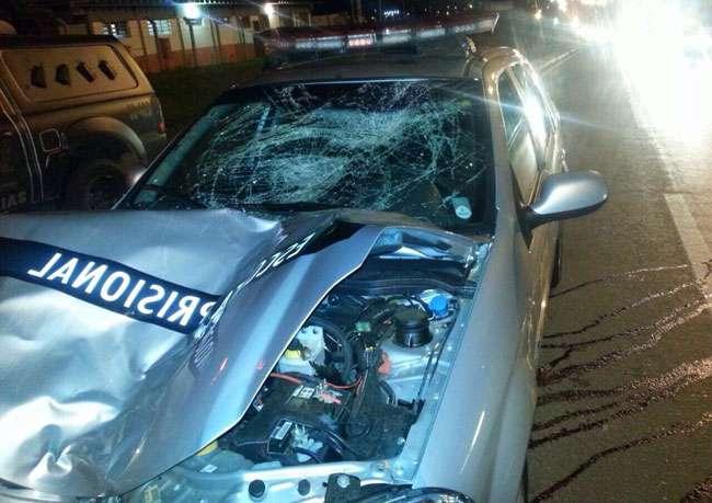 Idosa morre após ser atropelada por carro de escolta da Agência Prisional