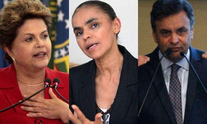 Ibope/CNI: Dilma tem 39%, Marina (31%) e Aécio (15%)