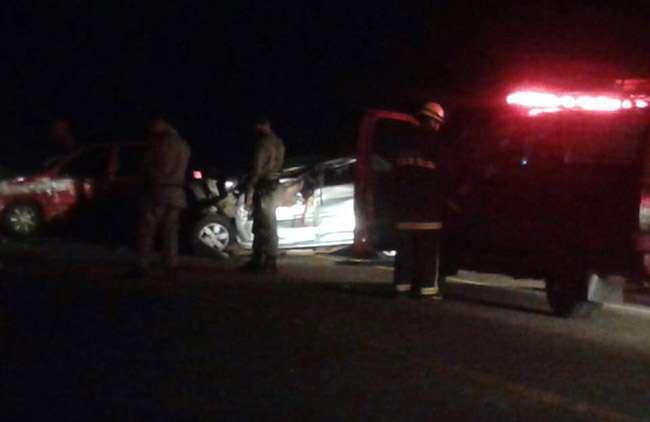 Acidente na GO-150 deixa duas pessoas mortas