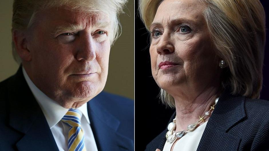 Pesquisa mostra Hillary 4 pontos à frente de Trump na reta final da disputa