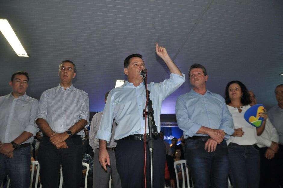 """Marconi prega união e critica colegas de partido que querem """"espalhar"""" a base"""