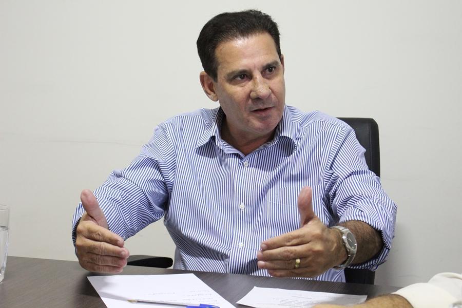 """""""Minha preocupação é para ir para o segundo turno"""", diz Vanderlan Cardoso"""