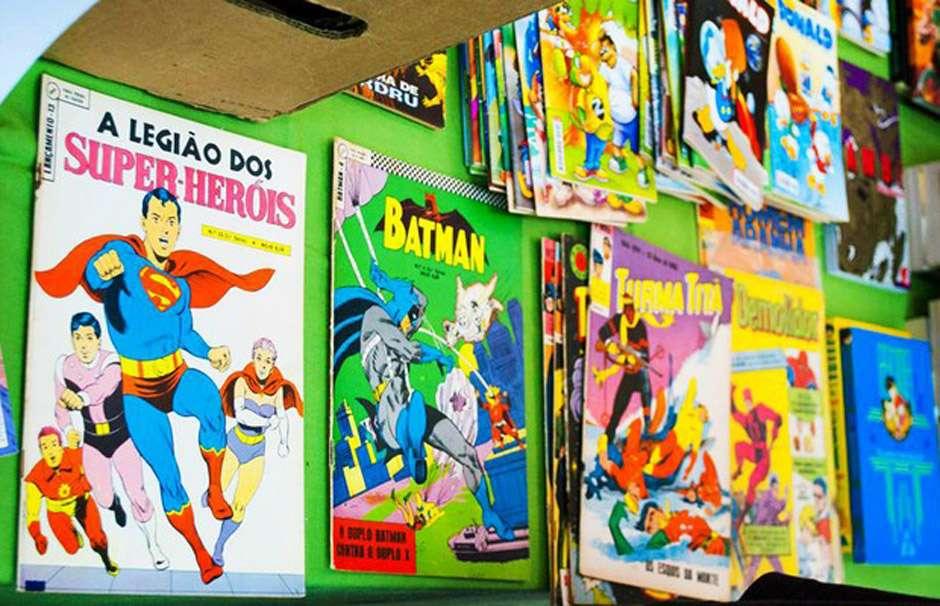 Sesc realiza feira de troca de revista em quadrinhos e mangá