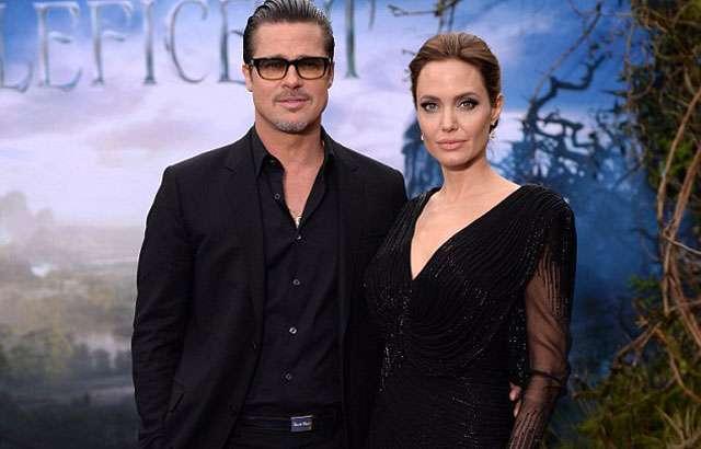 Angelina Jolie e Brad Pitt se casam na França