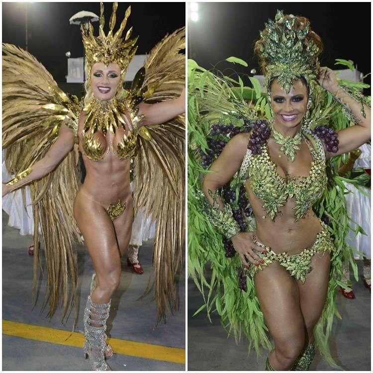 Juju Salimeni e Viviane Araújo são destaque no desfile da Mancha Verde