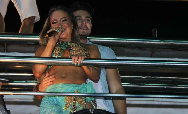 Luan Santana se apresenta com Claudia Leitte em Salvador